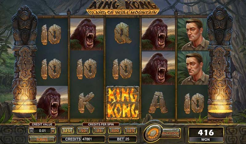 King Kong Skull Mountain